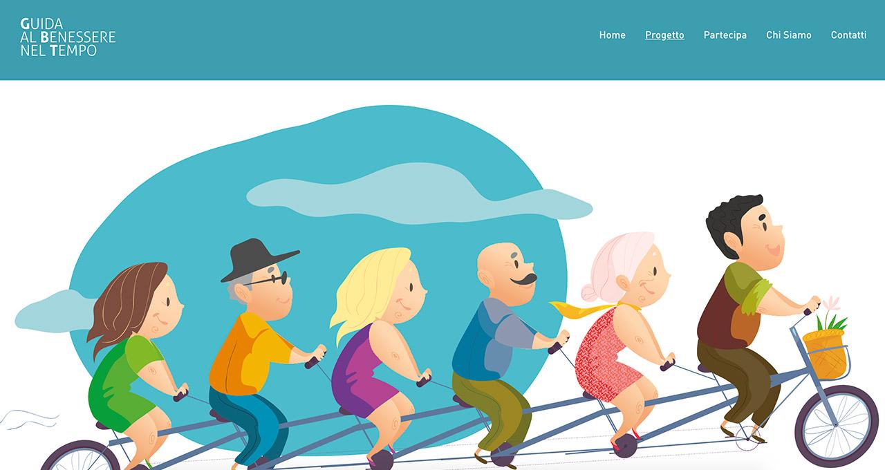 Sito Web benessere nel tempo - Jacopo Zane Web Designer - Treviso