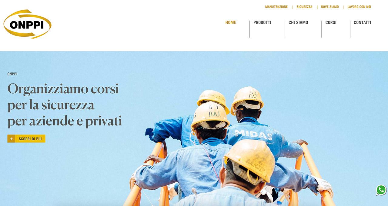 Sito Web ONPPI - Jacopo Zane Web Designer - Treviso