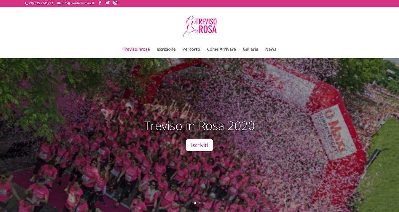 Sito Web Treviso in Rosa - Jacopo Zane Web Designer - Treviso